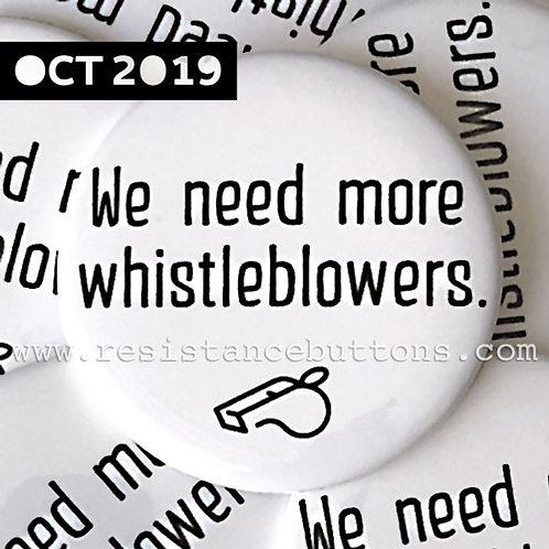 We need more whistleblowers.