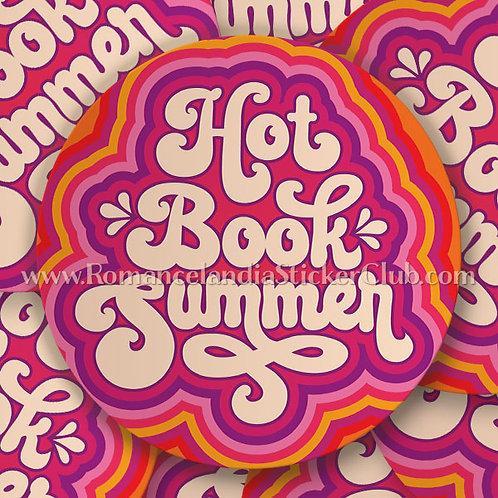 Sticker: Hot Book Summer