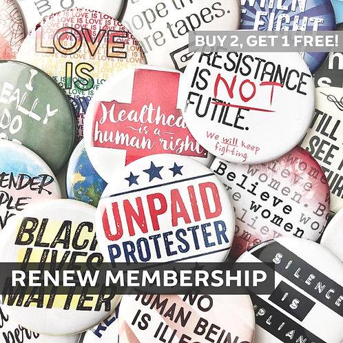 Renew Club Membership