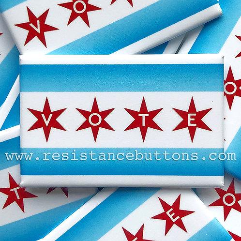 Chicago Flag VOTE