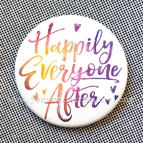Button: Happily Everyone After