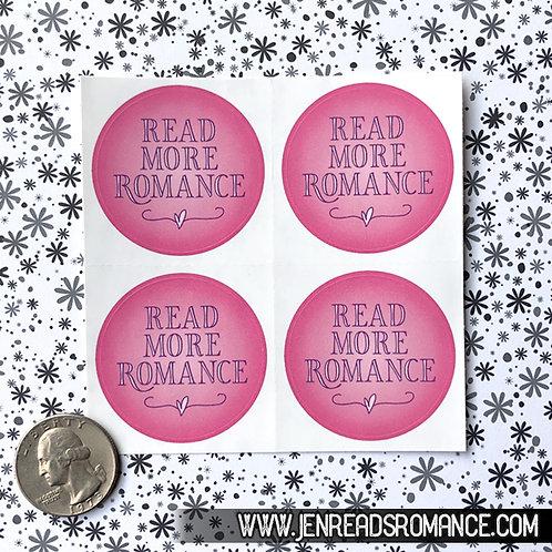 Sticker Sheet: Read More Romance