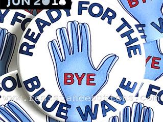 June 2018: Blue Wave