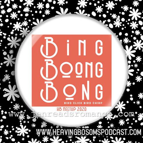 Button: BING BOONG BONG | HB Meetup 2020