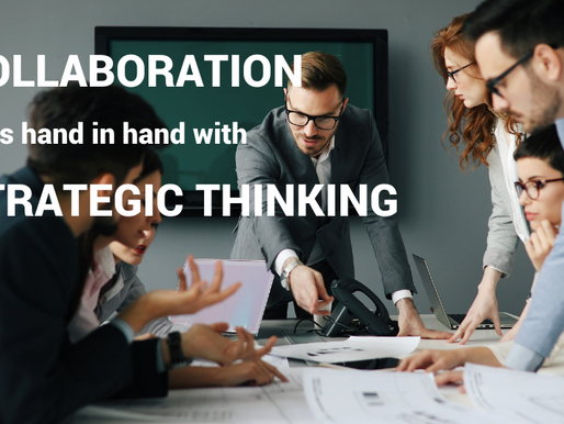 What's behind a successful strategy? Collaboration & strategic thinking, of course!