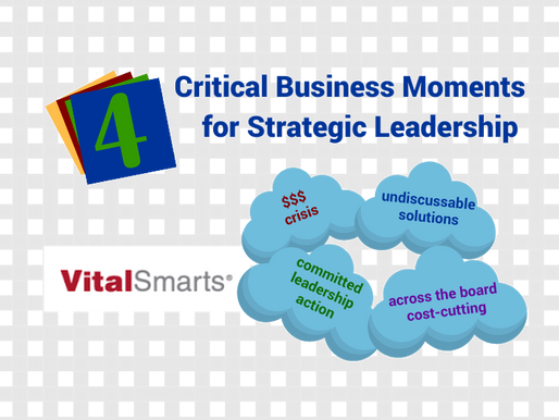 4 Critical Business Moments for Strategic Leadership