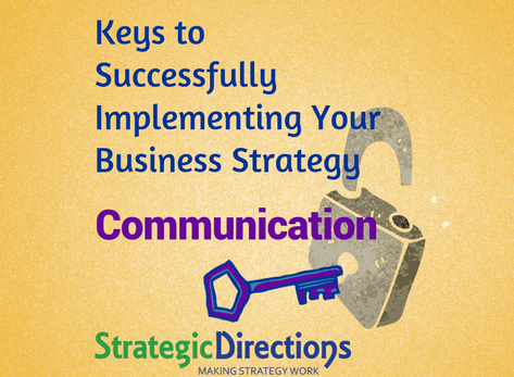 Implementing strategy? Talk it up!