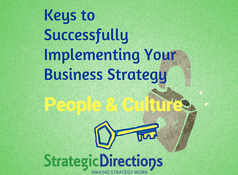 People and culture bring a strategy alive—or not!