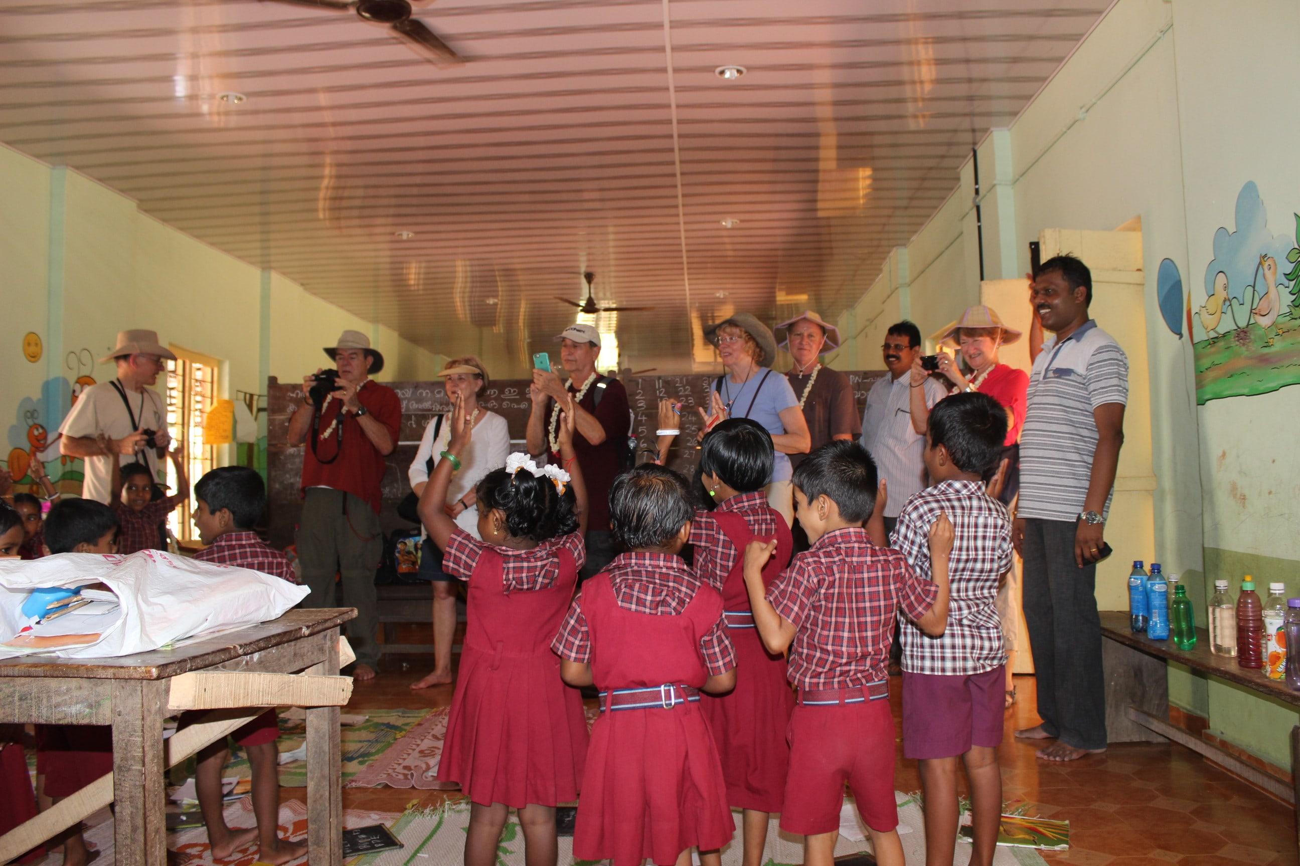 Local school visit