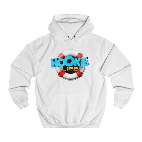 Hookie Life Ring Unisex College Hoodie
