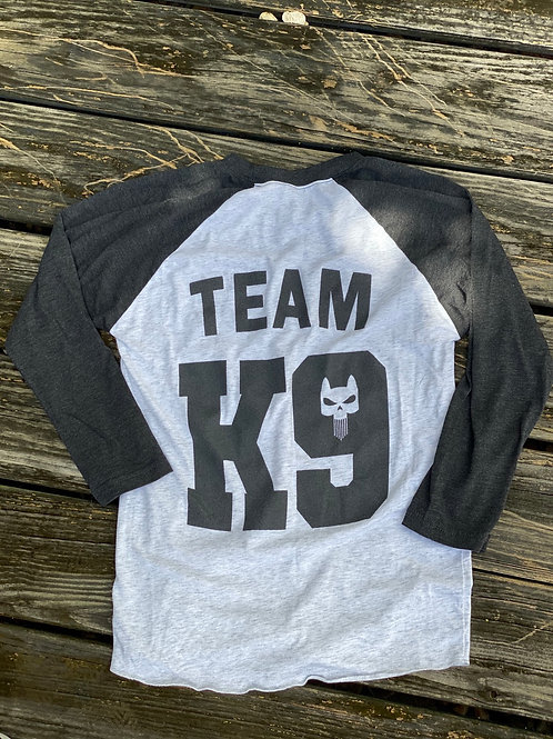TEAM K9 Baseball Tee