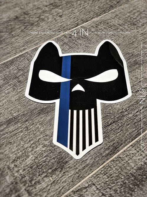 Thin Blue Line Logo Decal