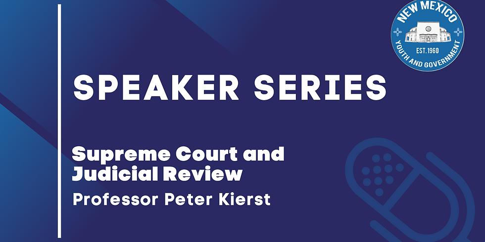 Speaker Series: Professor Peter Kierst