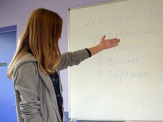 Atelier élève-médiateur à Saumur