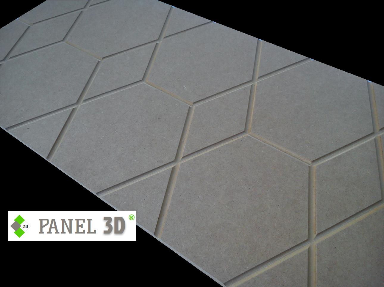 Panel 3D mdf 08