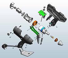 złożenia części w 3D DESIGN 3D CNC