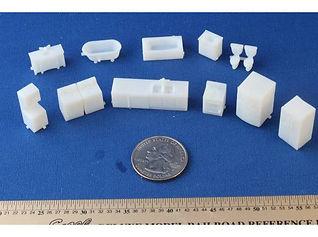 drukowanie 3D  MJM i MJM HD DESIGN 3D CNC