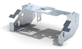 gięcie blach - rozkroje  DESIGN 3D CNC