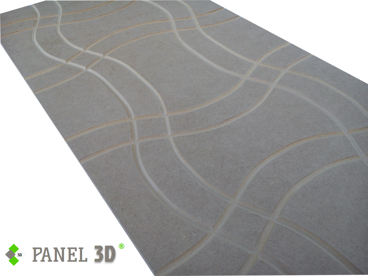 Panel 3D mdf 10