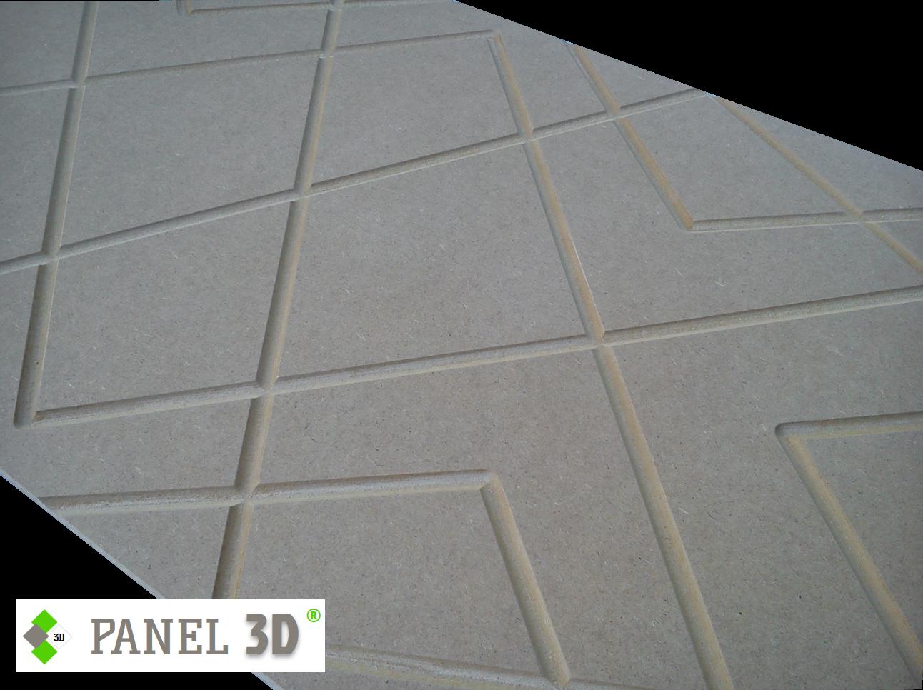 Panel 3D mdf 06
