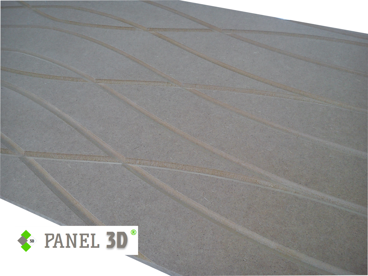 Panel 3D mdf 03
