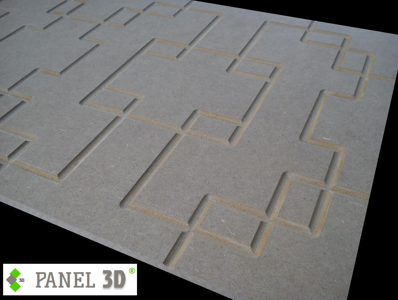 Panel 3D mdf 01