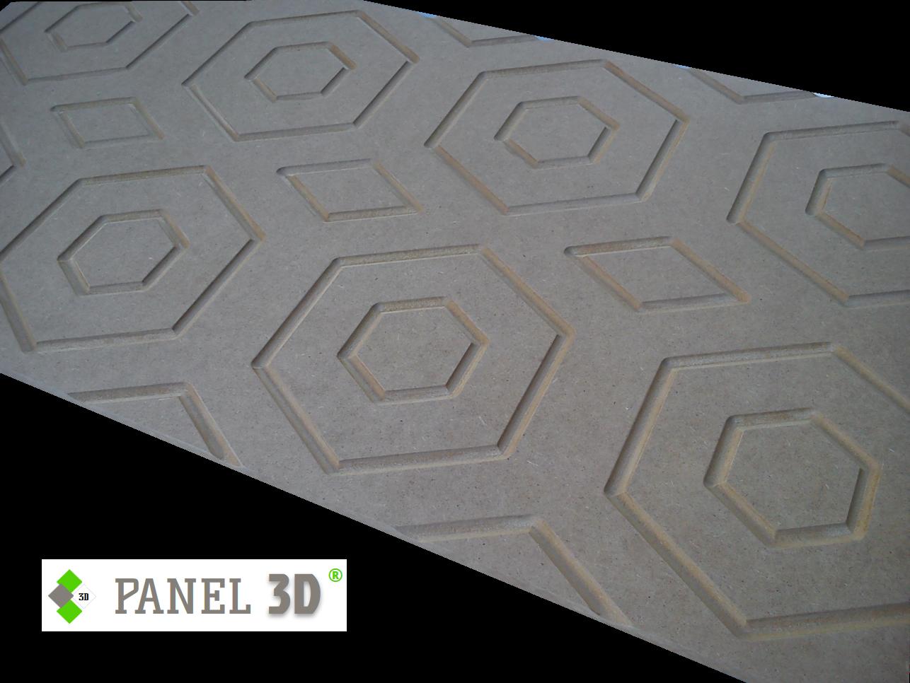 Panel 3D mdf 02