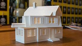 drukowana w 3D makieta DESIGN 3D CNC