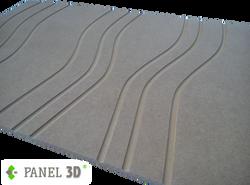 Panel 3D mdf 07