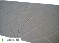Panel 3D mdf 05