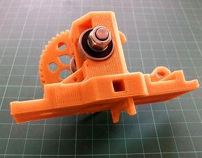 drukowany prototyp części DESIGN 3D CNC