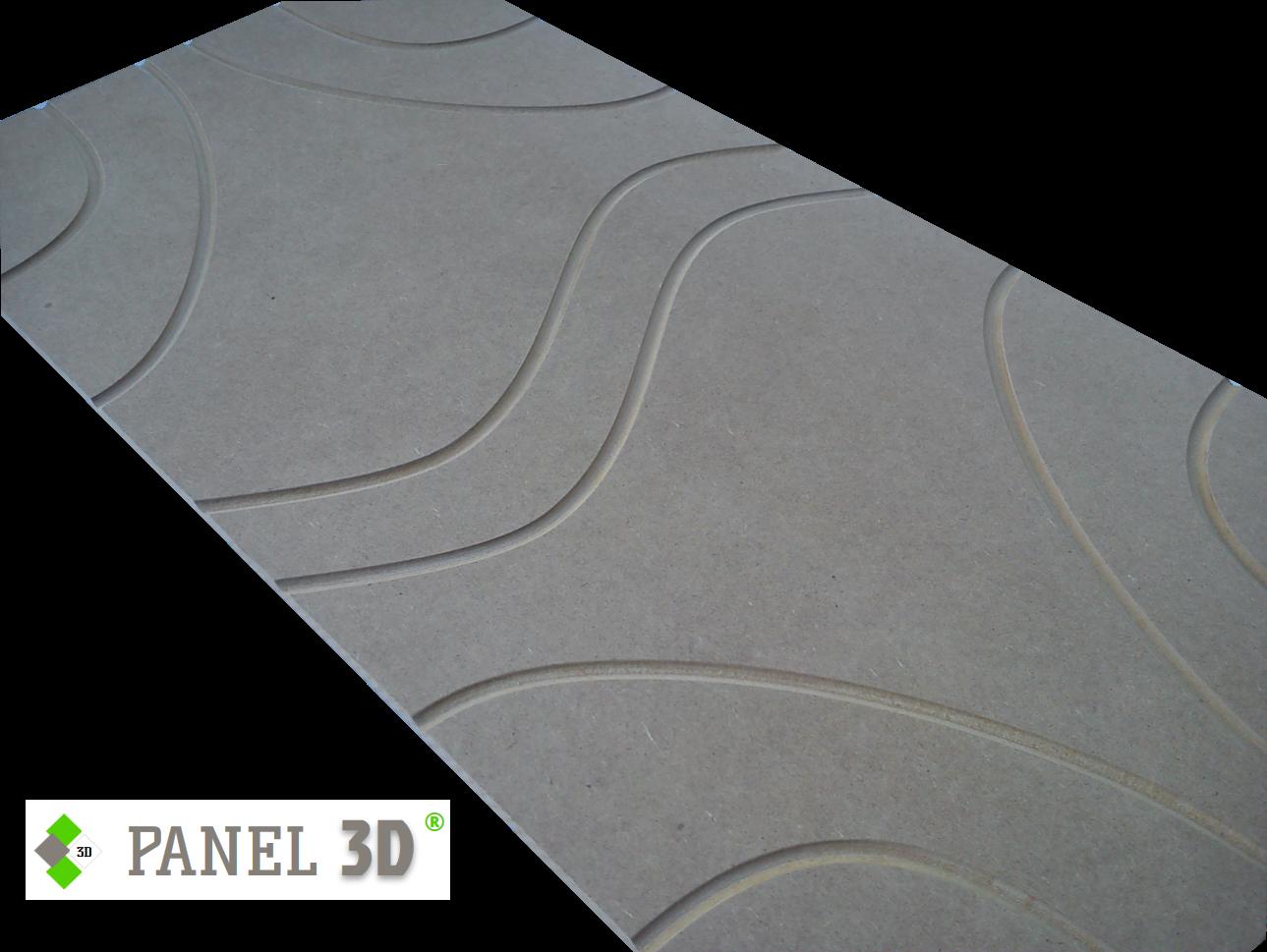 Panel 3D mdf 09