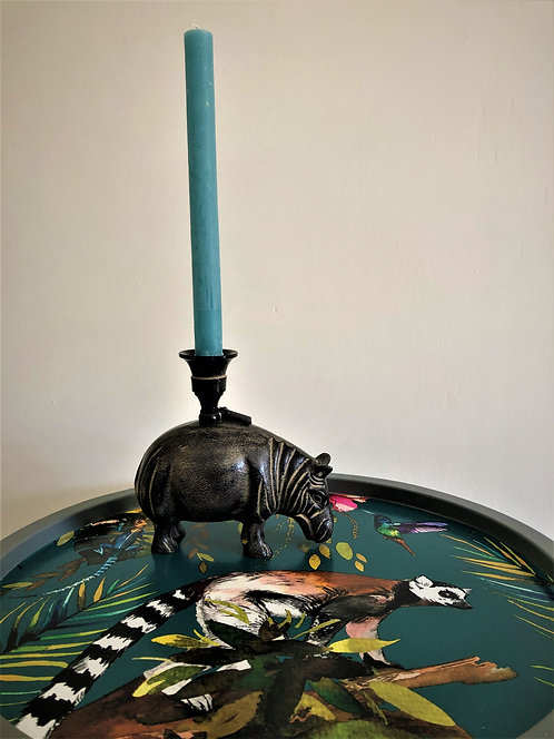 Hippo candle holder