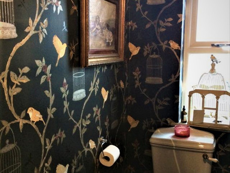 Decadent Downstairs Loos