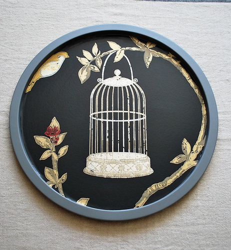 Birdcage top tray table