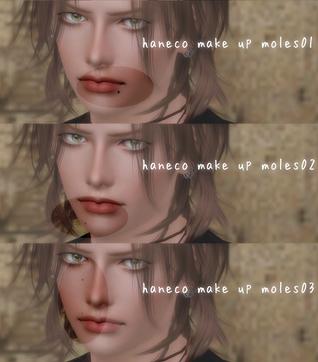 Make up moles01~03