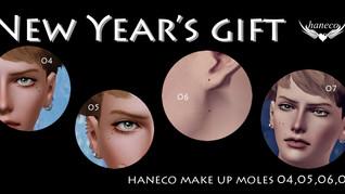 Make up moles04,05,06,07