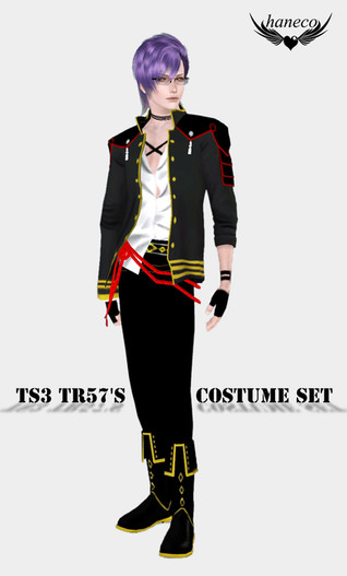 TS3 TR57's COSTUME SET