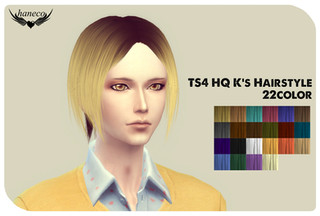 TS4 HQ K's Hairstyle