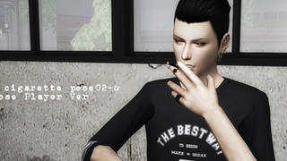 TS4 cigarette pose PPver & ACC03