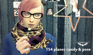 TS4 planet candy & pose