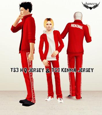 TS3 HQ Jersey & TS3 Kenma Jersey