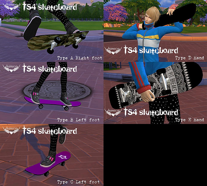 Sims 4 Cc S The Best Windows By Tingelingelater: TS4 Skateboard Set