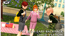 TS3 bear-ears backpack C