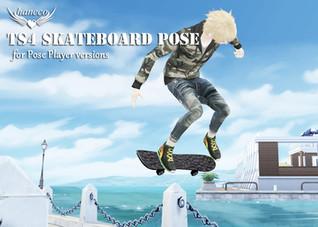 TS4 skateboard pose(for PP versions)