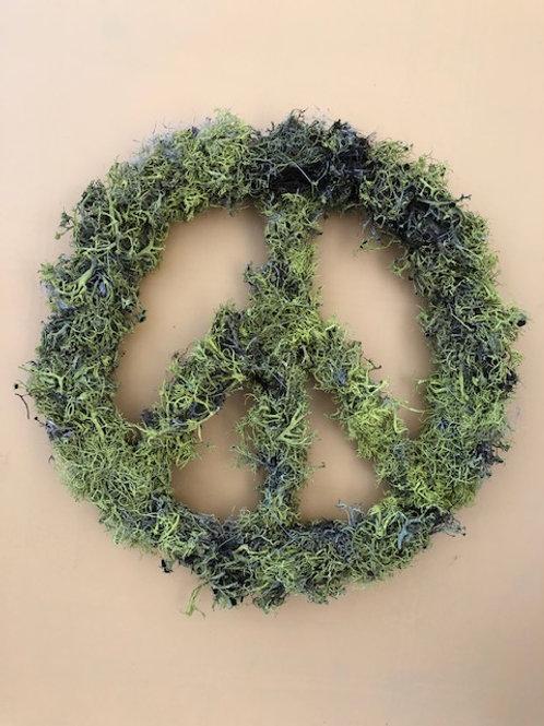 Mossy Peace Wreath