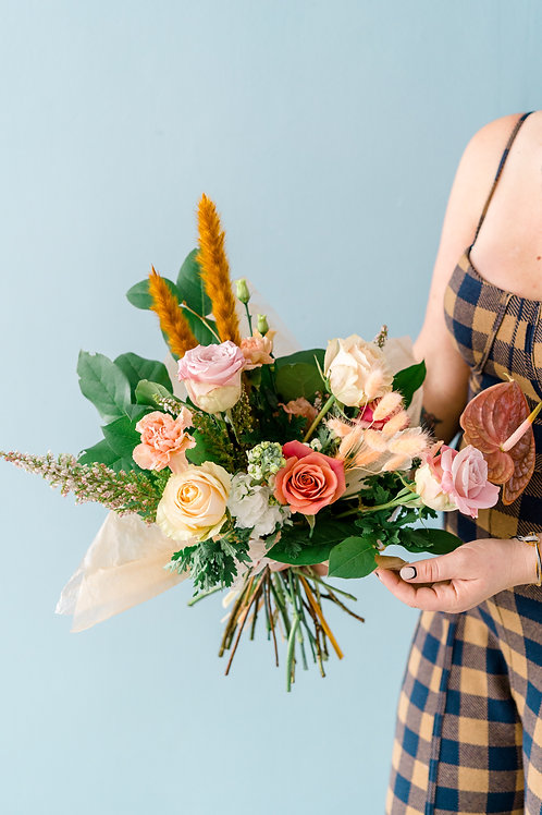 The Pinky-Peach Bouquet