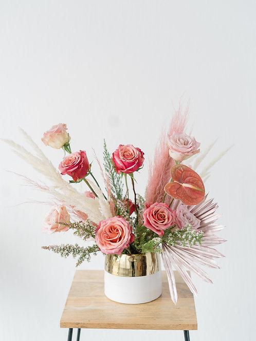 The Pinky Boho Vase