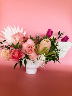 Boho Beauty; vased arrangement