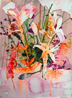 Anook CleonneStill 152 x 70 cmpastel op papier